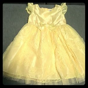 Yellow Girls Dress